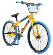 SE BIKES 2019 BLOCKS FLYER 26 inch BIKE Yellow - Blue