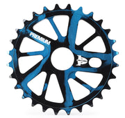 Premium Gnarstar Sprocket 28t - Smoke Blue