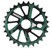 Premium Gnarstar Sprocket 25t - Smoke Green