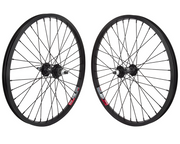 ALLOY 36 SPOKE WHEELS Black - 3/8