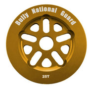 BULLY NATIONAL GUARD SPROCKET 25t/Gold