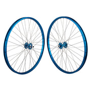 SE Racing 29 Inch Wheel Set Blue