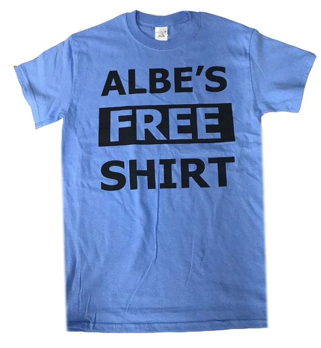Albe's Free Shirt in Blue at Albe's BMX Online