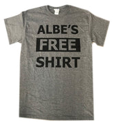 Albe's Free Shirt W/ $5.00 Donation To Albe's Beer Fund / Small