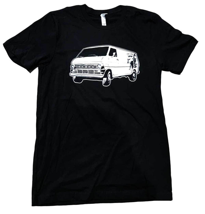 Albe's High Mileage T-Shirt in black at Albe's BMX Bike Shop