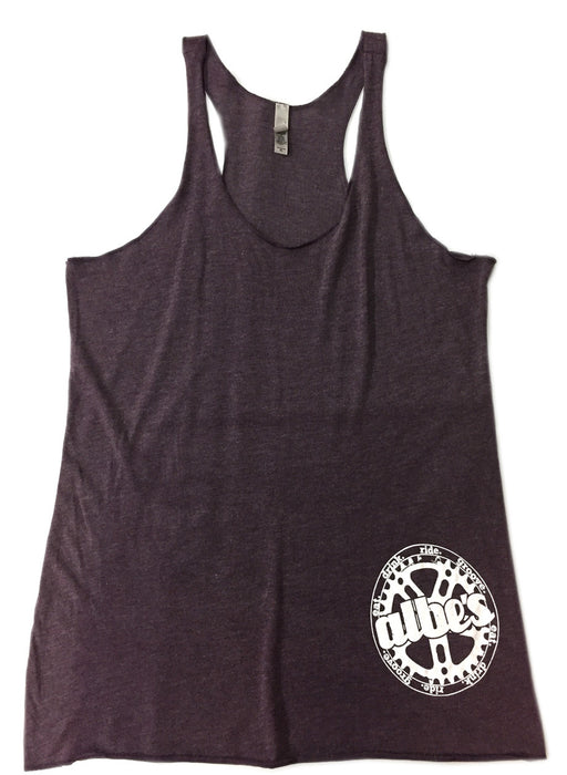 Albe's Chick Tank Top in Purple at Albe's BMX