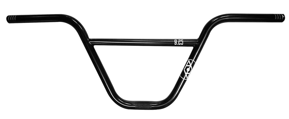 Alienation 9s Quarter BMX handle Bars in Black at Albe's BMX Shop