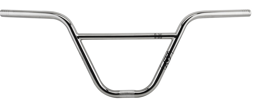 Alienation 9s Quarter BMX handle Bars in Nickle at Albe's BMX Shop