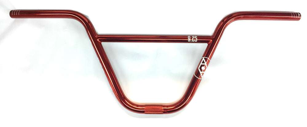 Alienation 9s Quarter BMX handle Bars in Nickle Red at Albe's BMX Shop