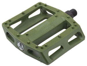 Animal Rat Trap PC Pedal in Green at Albe's BMX