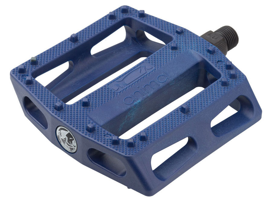 Animal Rat Trap PC Pedal in Blue at Albe's BMX