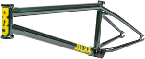 BSD ALVX AF Frame in green color at Albe's BMX Online