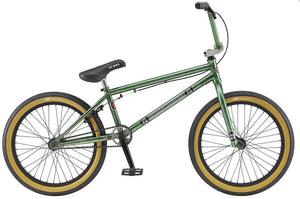 "GT Bikes Performer 20"" 2020 Bike in green color at Albe's BMX Online"