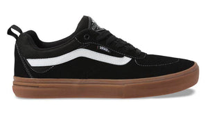 Vans Kyle Walker Pro Shoes Black / Gum at Albe's BMX Online