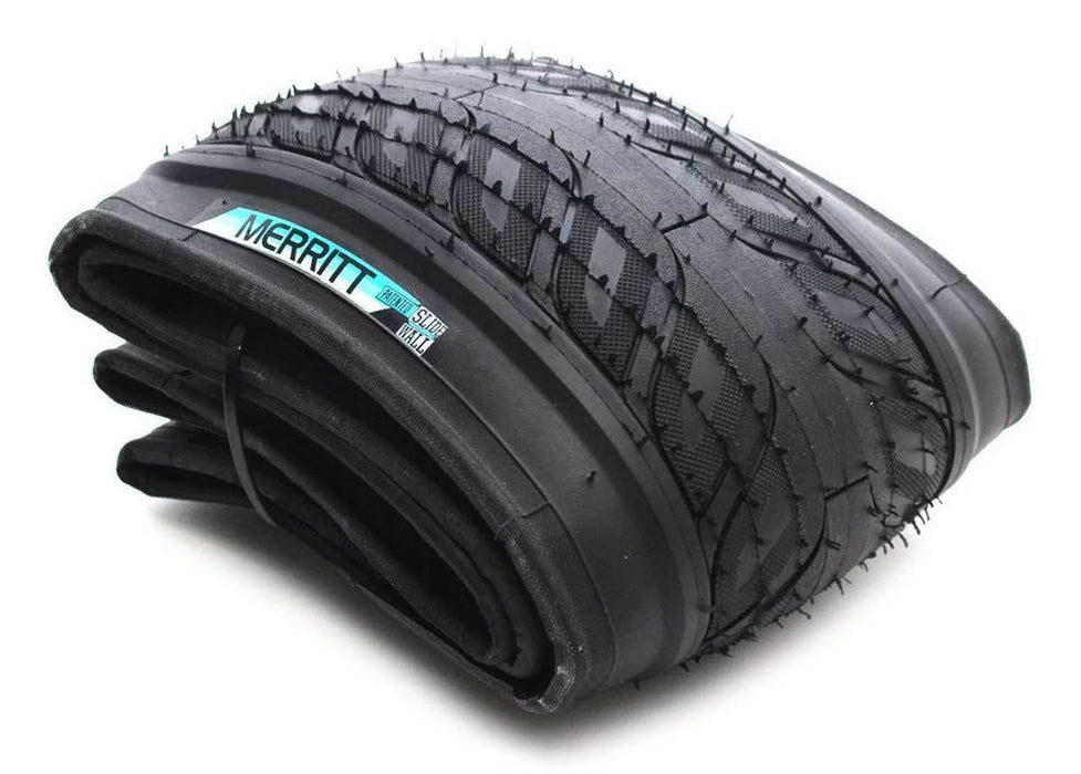 Merritt Option Kevlar Folding Tire at Albe's BMX Online
