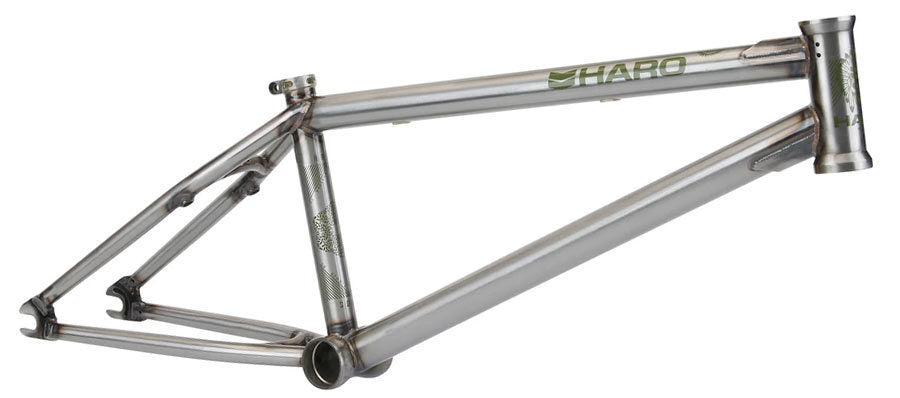 Haro SD V2 Frame in raw at Albe's BMX Online