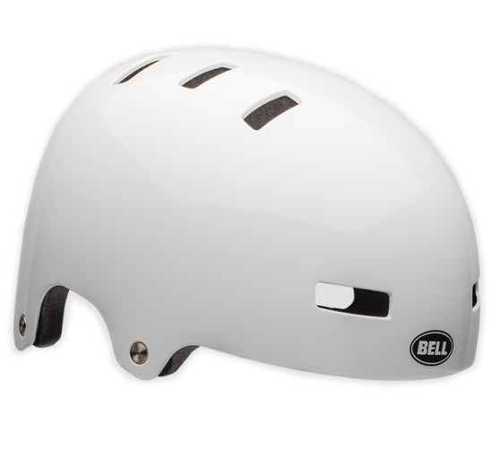 Bell Local Helmet in white at Albe's BMX Online