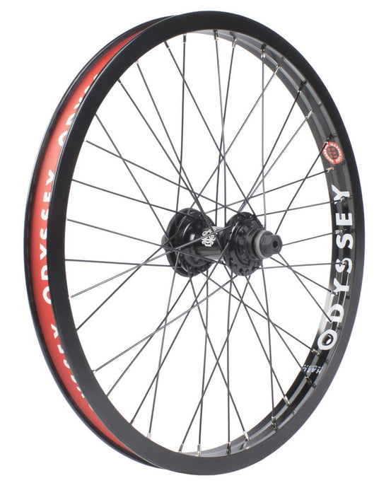 Odyssey Hazard Lite Antigram V2 Cassette Wheel in Black at Albe's BMX Online
