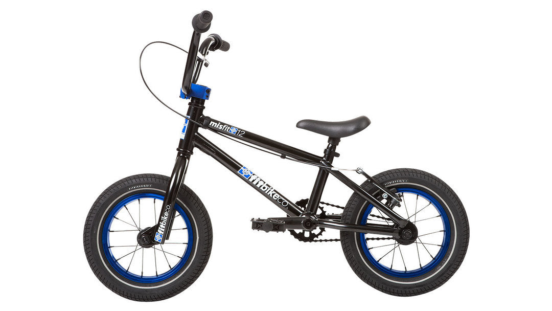 "Fit Misfit 12"" Bike 2020 in black at Albe's BMX Online"