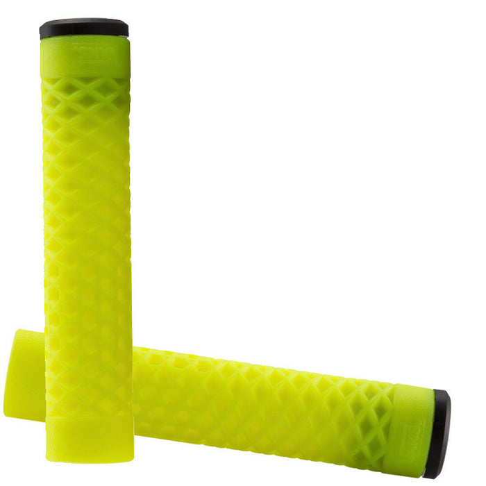 Cult Vans Flangeless Grips in Neon Green at Albe's BMX Online