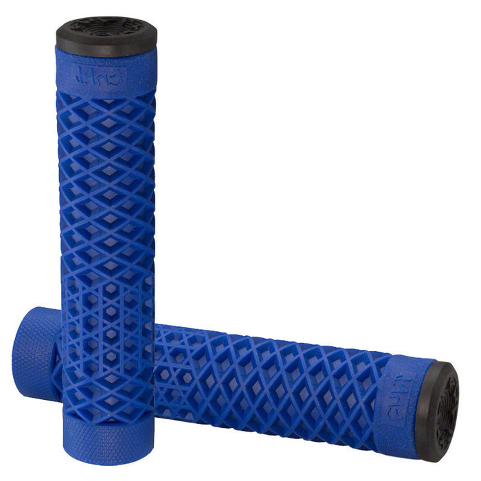 Cult Vans Flangeless Grips in blue at Albe's BMX Online