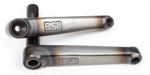 BSD Substance XL Cranks in Matte Raw at Albe's BMX Online
