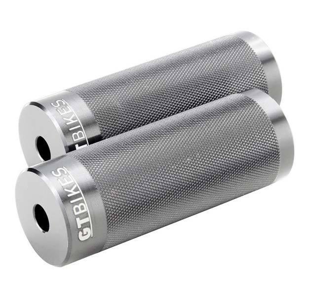 GT Bikes Cheat Code Alloy Pegs in silver at Albe's BMX Online