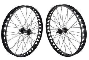"SE Bikes Fat Ripper 26"" Wheelset  in black at Albe's BMX Online"