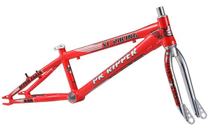 "SE Bikes PK Ripper Super Elite 20"" XXL Frameset in red at Albe's BMX Online"