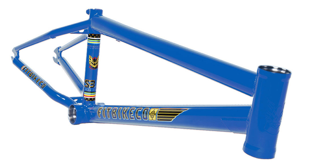 Fit S3.5 Aitken Frame in Blue at Albe's BMX Online
