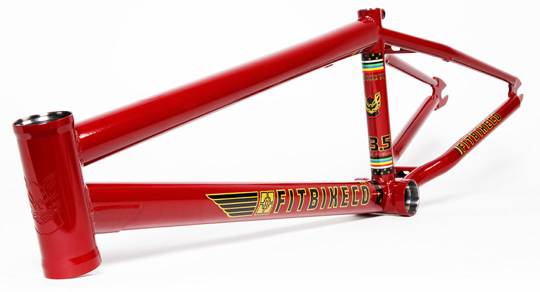 Fit S3.5 Aitken Frame in Red at Albe's BMX Online