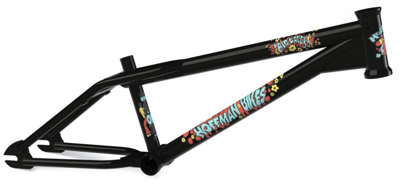Hoffman Bikes Big Daddy Frame in black with red decals at Albe's BMX Online