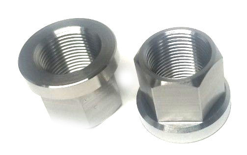 RNC Titanium Axle Nuts at Albe's BMX Online