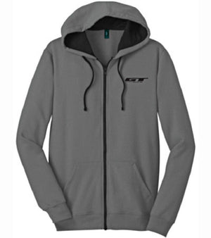 GT Bikes Logo Hooded Sweatshirt in grey at Albe's BMX Online