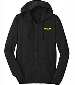 GT Bikes Logo Hooded Sweatshirt in black at Albe's BMX Online