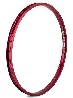 "Sun Rhyno Lite XL 24"" Rim in red at Albe's BMX Online"