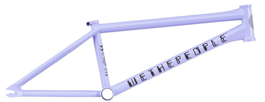 WeThePeople Battleship Frame in lilac at Albe's BMX Online