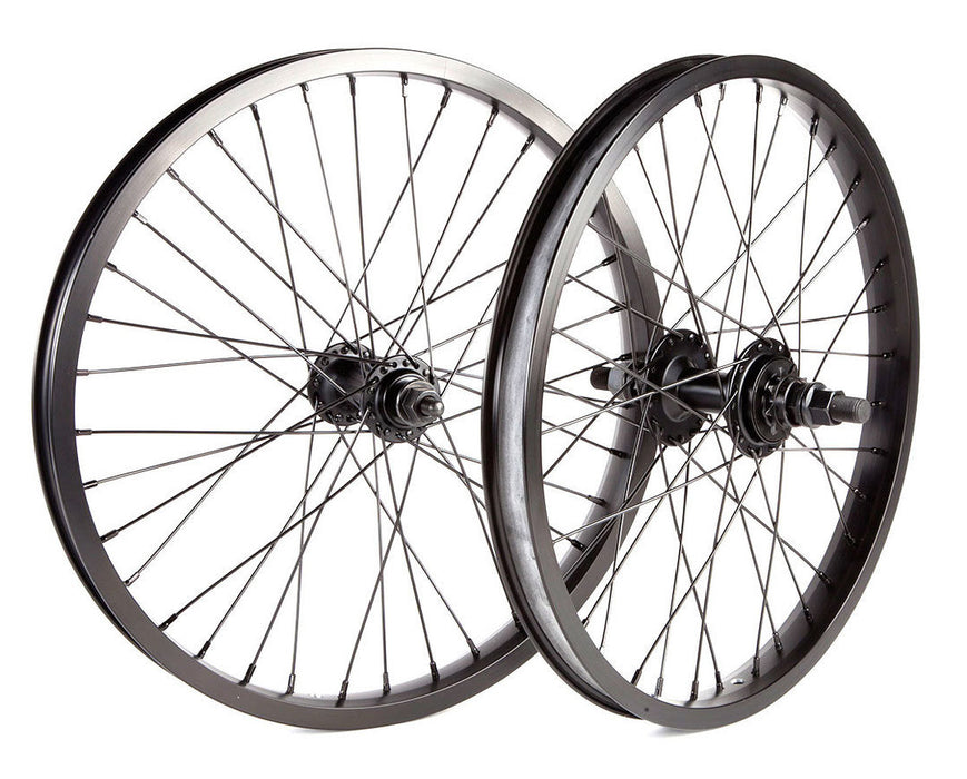 "Fit 18"" Wheelset in black at Albe's BMX Online"