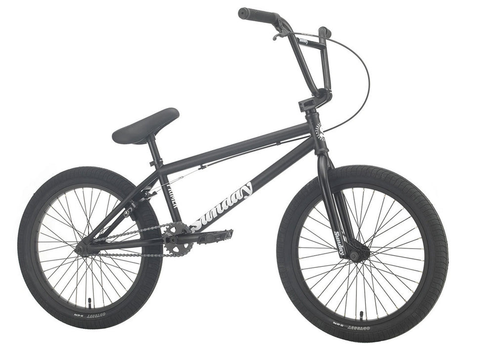 Sunday Primer Bike 2021 in Matte Black at Albe's BMX Online