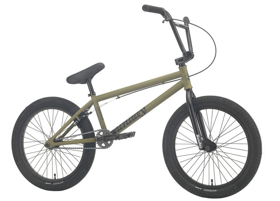 Sunday Primer Bike 2021 in Army Green at Albe's BMX Online