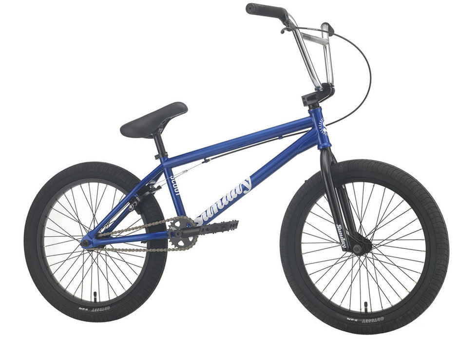 Sunday Scout Bike 2021 in Trans Blue at Albe's BMX Online