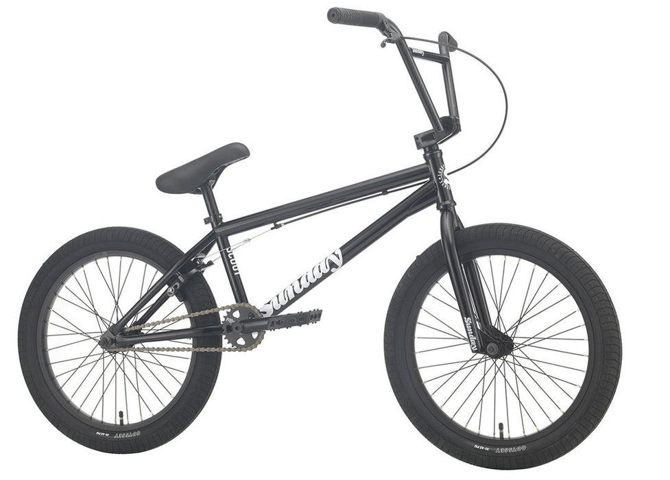 Sunday Scout Bike 2021 in Gloss Black at Albe's BMX Online