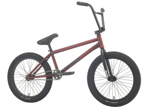 Sunday EX Bike 2021 in trans red at Albe's BMX Online