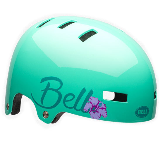 Bell Local Helmet in Mint at Albe's BMX Online