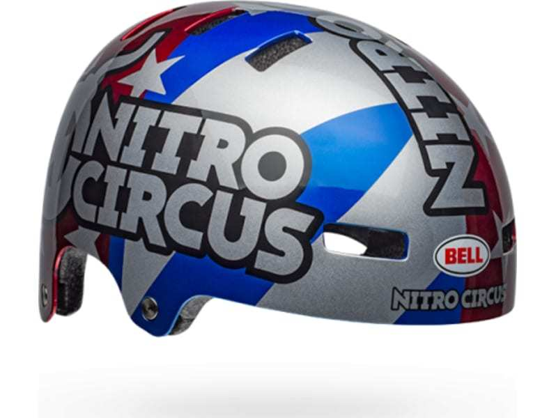 Bell Local Helmet in Nitro Circus at Albe's BMX Online