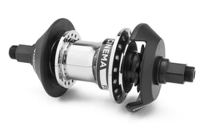 Cinema FX Freecoaster Hub in chrome at Albe's BMX Online