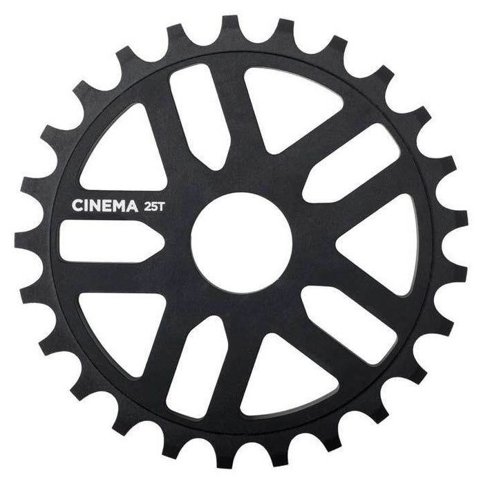 Cinema Rewind Sprocket in black at Albe's BMX Bike Shop