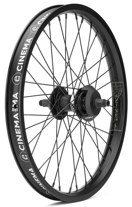 Cinema Reynolds Freecoaster Wheel in black at Albe's BMX Bike Shop