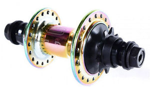 Colony Wasp Cassette hub in rainbow at Albe's BMX Bike Shop Online