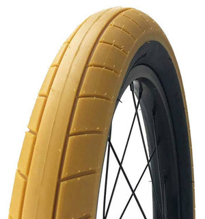 Cult Juvenile BMX Tire in Gum at Albe's BMX